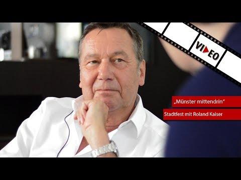 """Stadtfest """"Münster mittendrin"""" - Das Interview mit Roland Kaiser"""