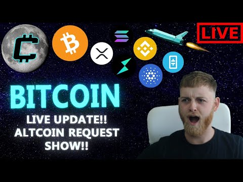 WILL BITCOIN HIT $36,000??!! LIVE BITCOIN UPDATE!! ALTCOIN REQUEST SHOW! JULY PREDICTIONS