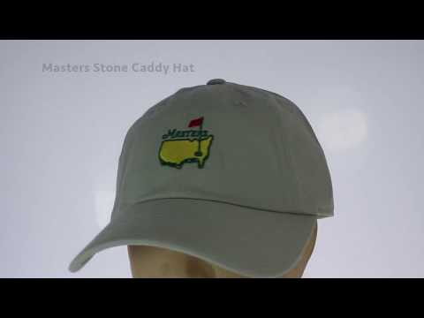 Masters Stone Caddy Hat - YouTube 580c7d497557