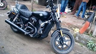 Cool Rocking Harley Davidson Motorcycle Bike In Mumbai India 2014 [hd Video]