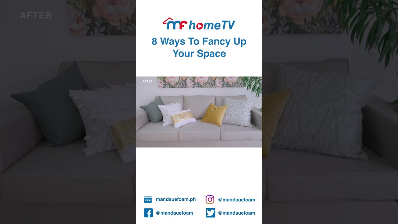 8 Ways To Fancy Up Your Space #Shorts