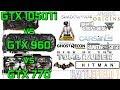 GTX 1050Ti vs GTX 960 4Gb vs GTX 770 4Gb - 1080p- Ultra