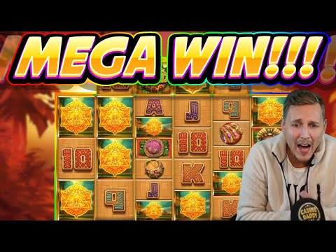 MEGA WIN!! Temple Treasure BIG WIN - Casino Games From Casinodaddy Live Stream