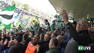 Calcio Avellino-Lanusei, gli highlights e la festa della promozione in C