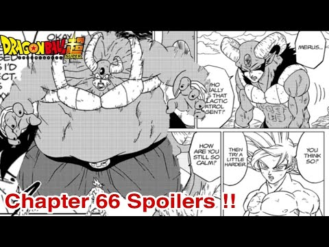 Dragon Ball Super Chapter 66 Spoilers Release Date Youtube