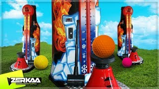 THE MINIGOLF STRENGTH TEST! CARNIVAL GAMES (Golf It)