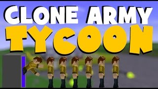 Roblox clone tycoon part 1