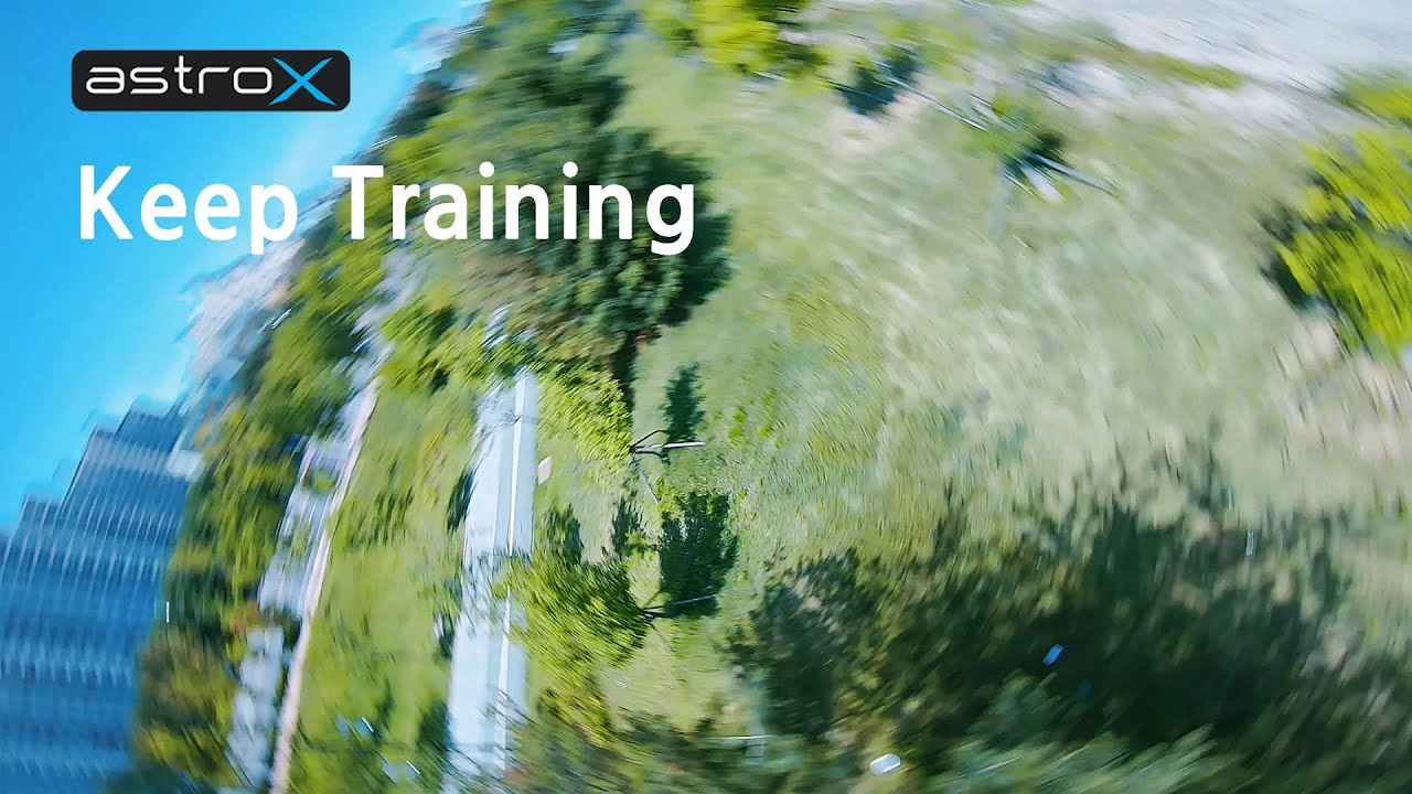 8자 연습의 효과? | 달라지는 나의 모습 | Keep training | Rotor Idiot | Astro X x5 Johnny fpv edition