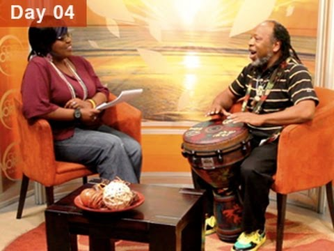 Leon Mobley MIMA Minute in Namibia; national TV broadcast