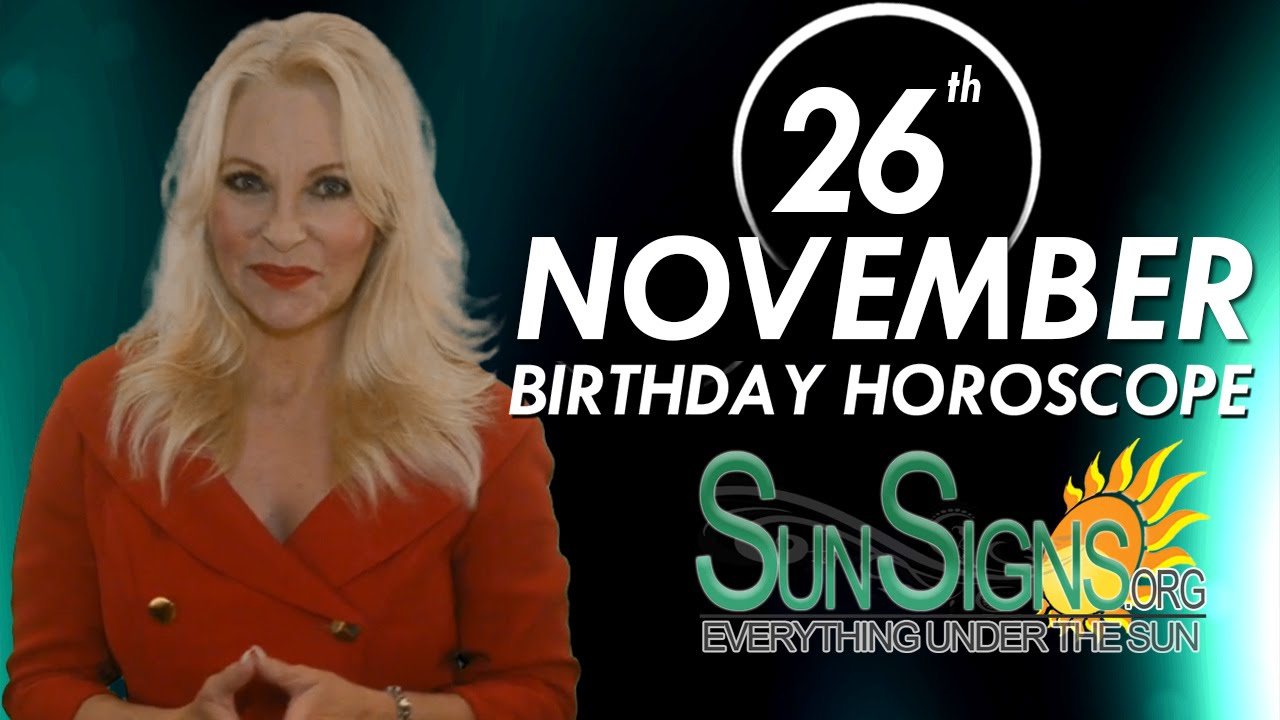 date of birth 26 november in numerology