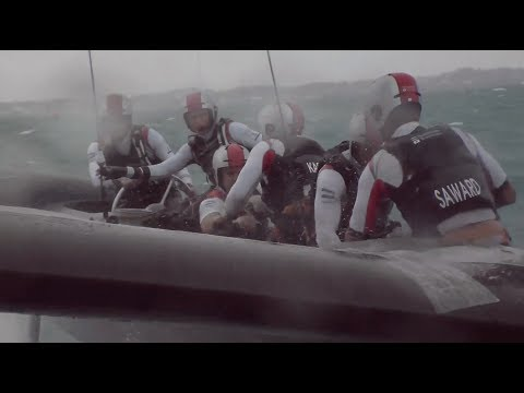 America's Cup Playoffs Day Two // SoftBank Team Japan