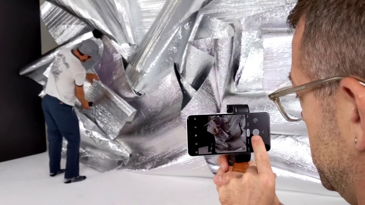 Behind the scenes with Condé Nast and Google Pixel 3