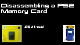 8mb memory card disassembly playstation 2