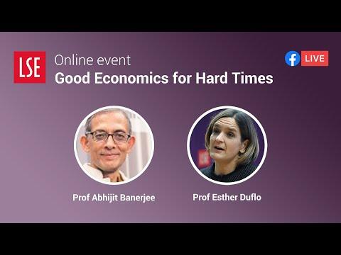 Good Economics For Hard Times | LSE Online Event