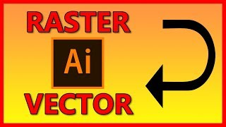 How to convert / trace an image to a vector in Illustrator CC - Tutorial