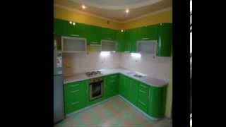 Кухни фото 2014 красивые современные дизайны зеленые фасады,под заказ в Харькове(Фасады -- это дверцы кухни, ее «лицо», именно они определяют в большей степени внешний вид кухни, ее стиль...., 2013-09-27T16:24:21.000Z)