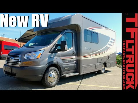 2017 Ford Transit Winnebago RV Everything You Ever Wanted to Know