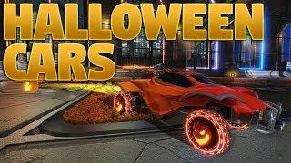 5 Halloween Car Designs On Rocket League