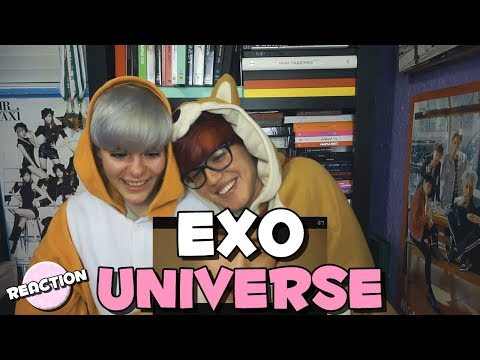 EXO (엑소) - UNIVERSE ★ MV REACTION