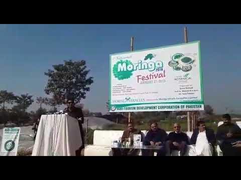 National Moringa Festival arranged by Agri Tourism Development corporation of Pakistan.