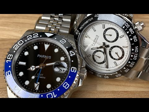 "Parnis ""cheap Watches That Work"""