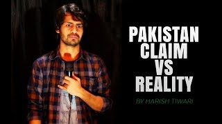 Download PAKISTAN : CLAIM VS REALITY | STAND-UP COMEDY | HARISH A TIWARI | DKC Mp3 and Videos