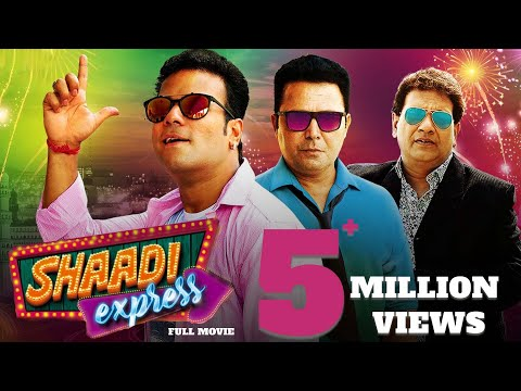 Shaadi Express Hyderabadi Full Comedy Movie | Mast Ali, Aziz Naser, Altaf Hyder | Sanjay Punjabi thumbnail
