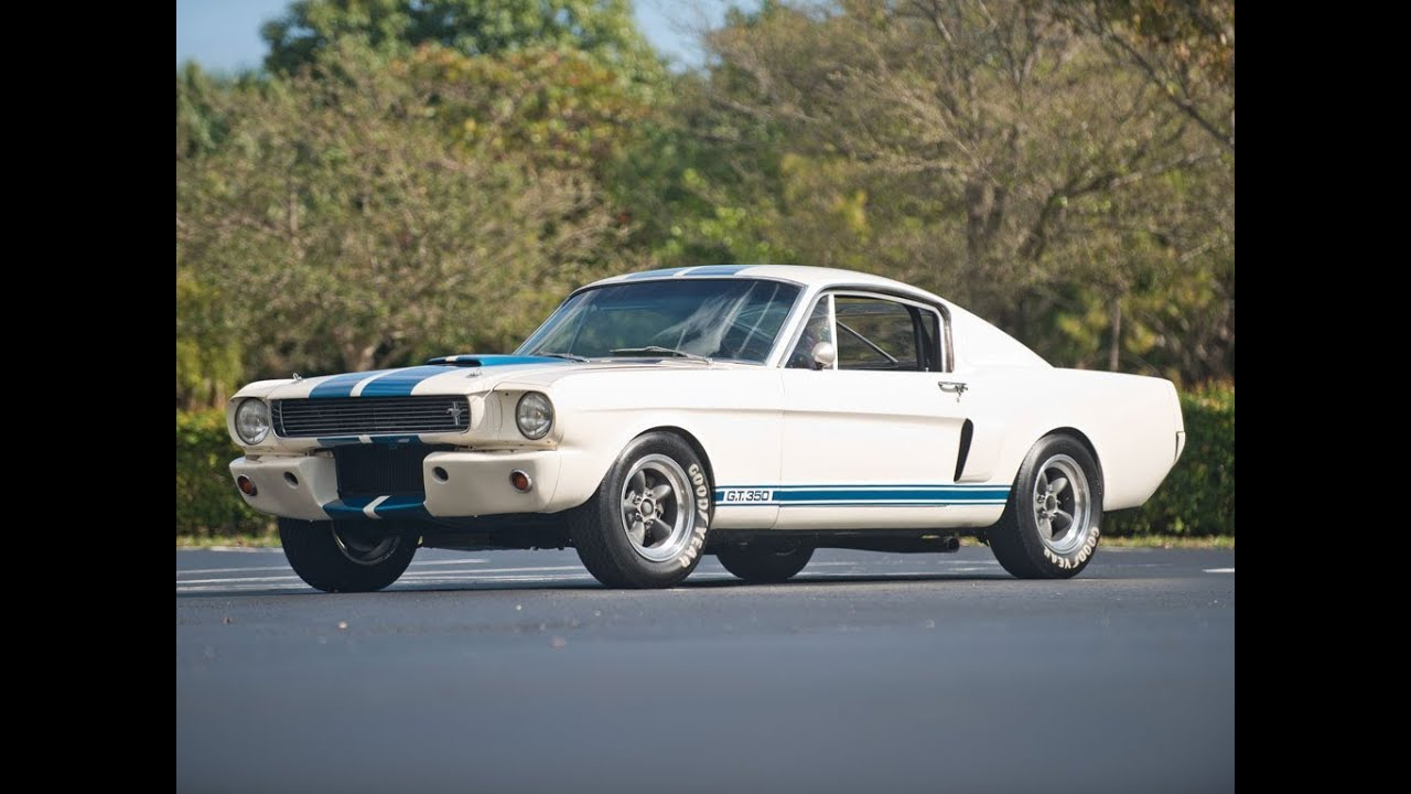 1966 Shelby Mustang Gt350 Youtube