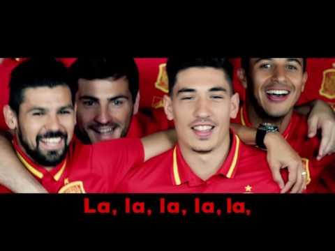 La Roja Baila (Himno Oficial de la Selección Española) (Karaoke)
