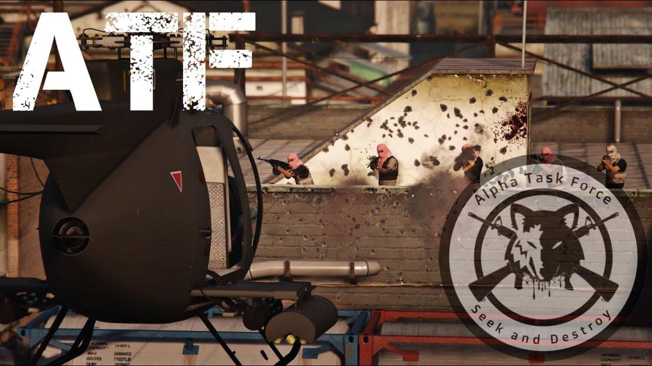 GTA V MILITARY CREW | ATFO | Dead Man Walking