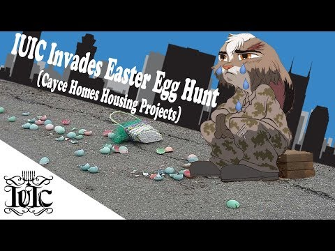 The Israelites:  IUIC Invades Easter Egg Hunt (Cayce Homes Housing Projects)