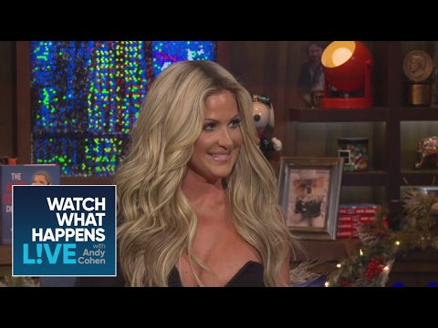 Kim Zolciak Turns The Tables on Andy Cohen in a Special One-on-One - WWHL