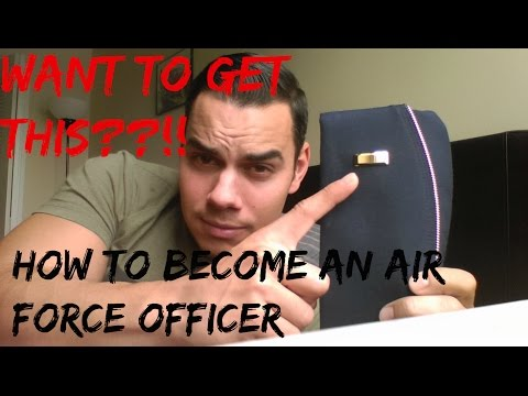 Want To Become An OFFICER? Air Force!!!