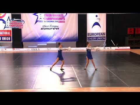 94 JUNIOR DOUBLE FREESTYLE POM Petković   Tamindžija LET'S DANCE NEVESINJE BOSNIA & HERZEGOVINA