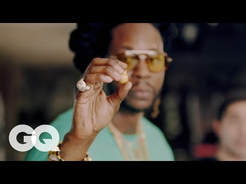 2 Chainz Tries The Most Expensivest Foods | GQ