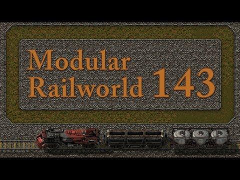 Factorio Modular Railworld #143 - South West Corner Completion