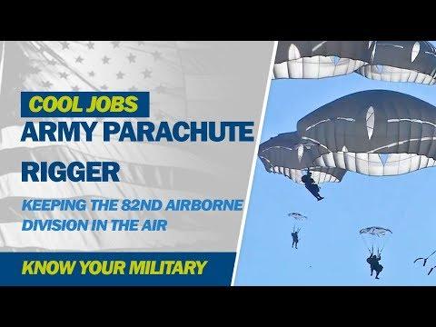 Cool Jobs: Army Parachute Rigger