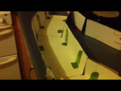 Building a Tunnel for your Model Railway from old Card Board Boxes part 1