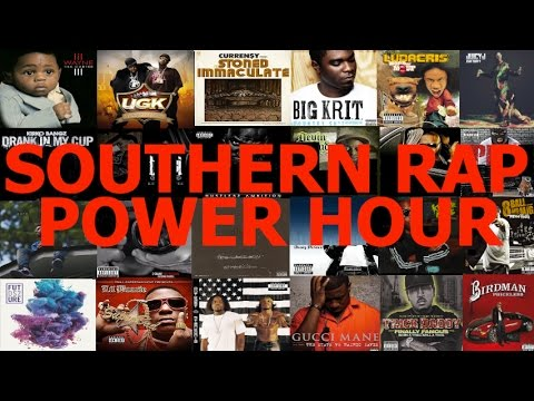 Southern Rap/Hip-Hop Power Hour Drinking Game