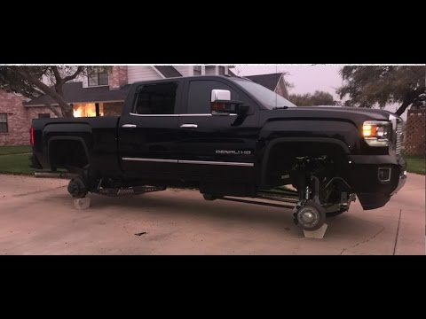 Full Throttle Suspension >> Specialty Forged Wheels STOLEN from one week old built Denali! - YouTube