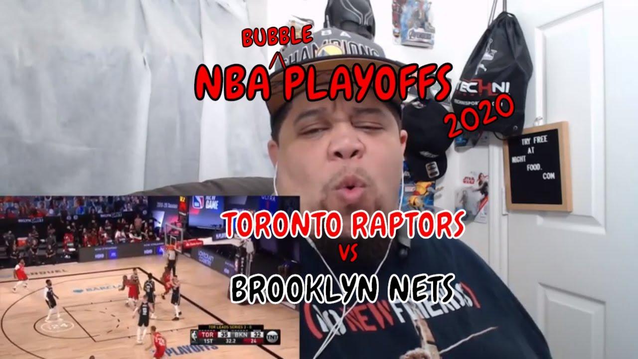 3nba #playoffs TORONTO RAPTORS vs BROOKLYN NETS - FULL GM4 HIGHLIGHTS NBA | REACTION| NONPFIXION