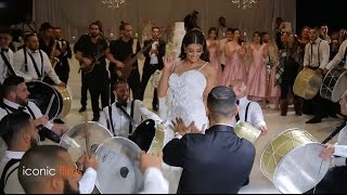 ARAB WEDDING - Bride and Groom grand entry! thumbnail