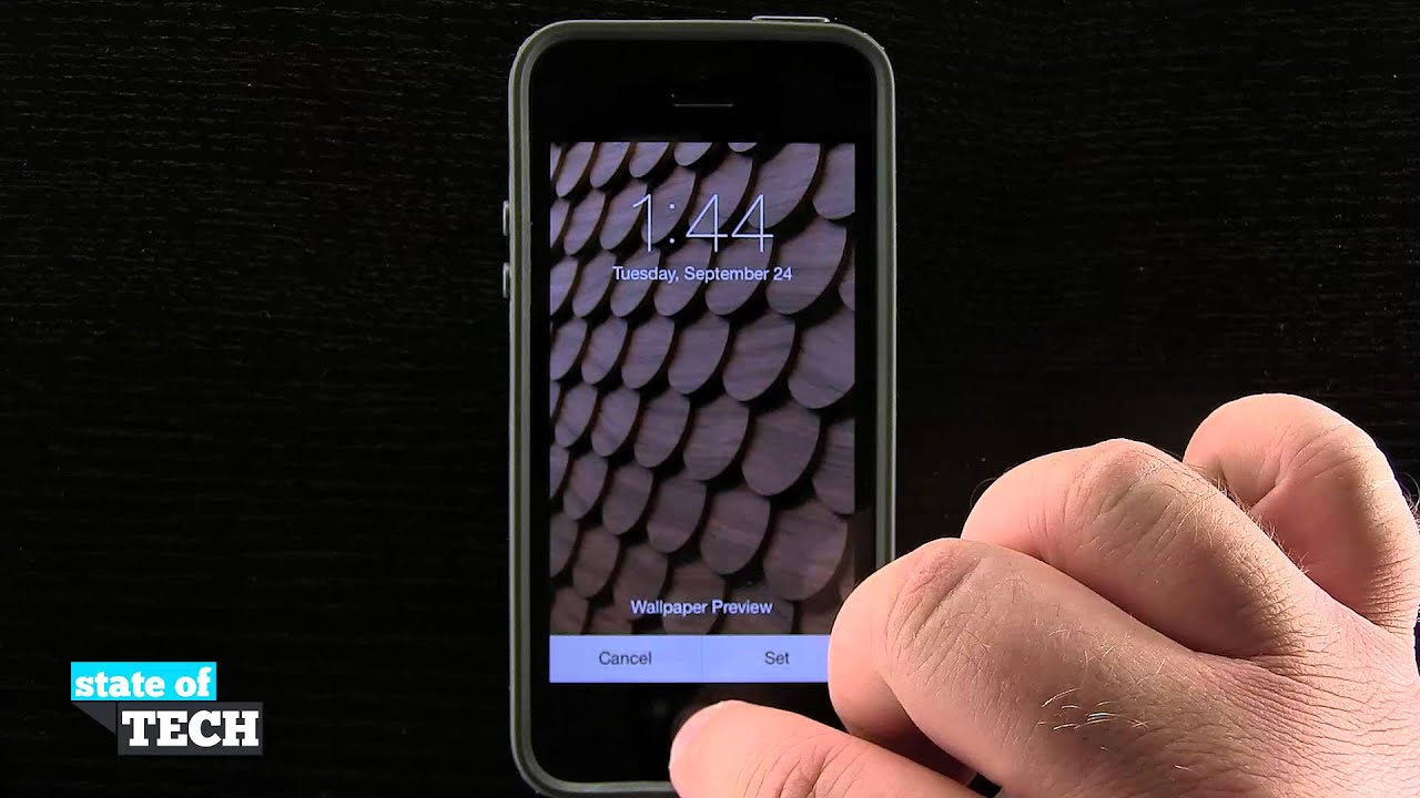 iPhone 5S Quick Tips - Changing the Default Wallpaper