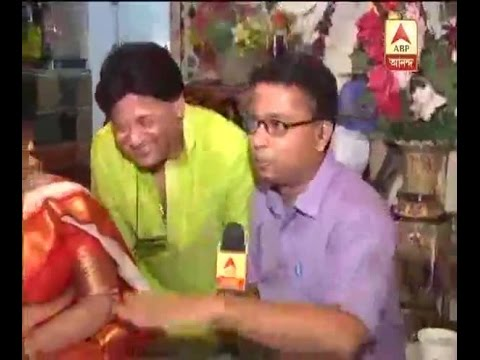 Tapas Pal celebrated Laxmi Puja with family
