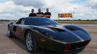 Repeat youtube video 278 MPH Ford GT - TEXAS MILE RECORD!!   October 2013