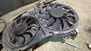 Ремонт и обслуживание вентиляторов охлаждения Audi A6 C6 BBJ 3 0 Разборка и замена щеток
