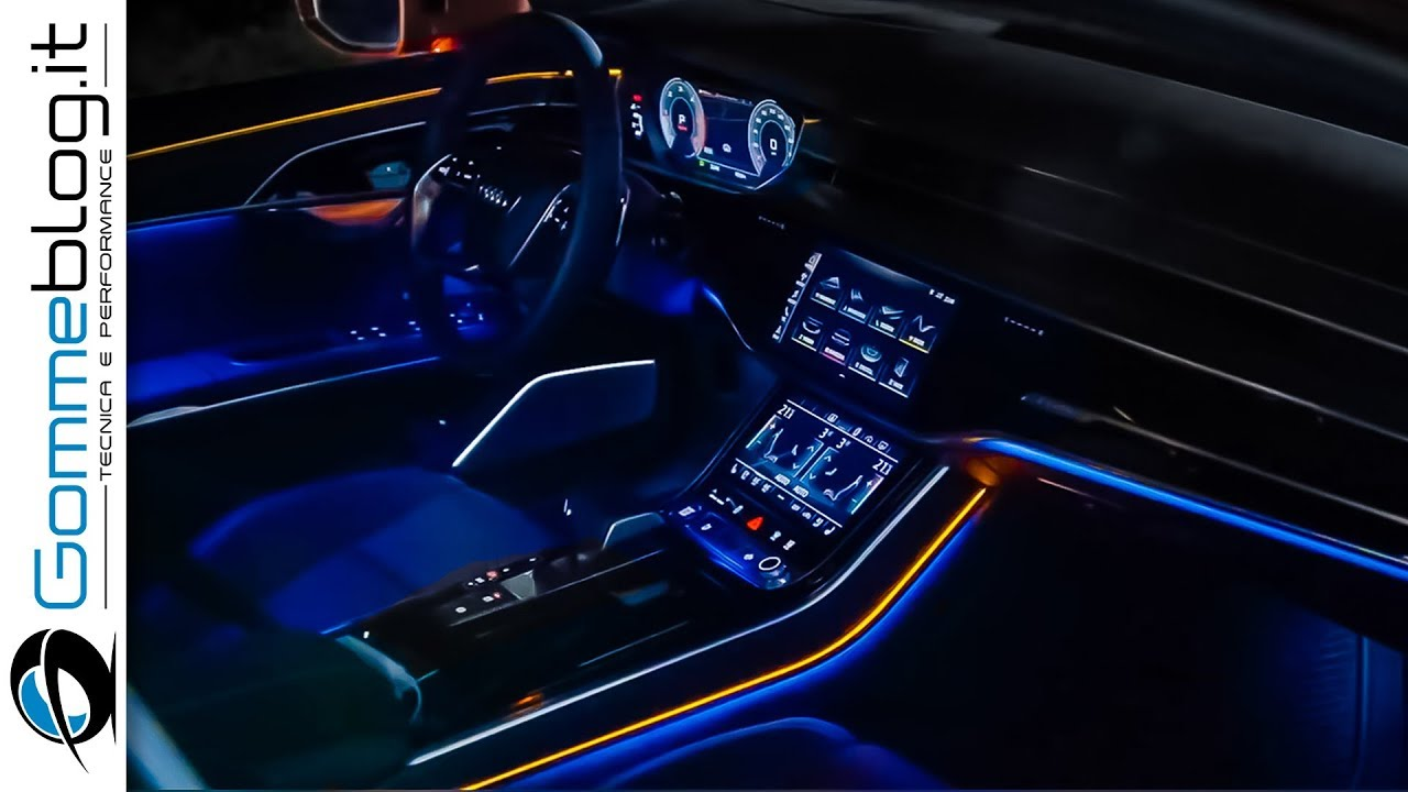 2020 Audi S8 Interior Tech Features Youtube