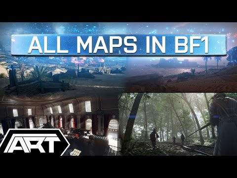 Battlefield 1 Maps List Confirmed | Fao Fortress, Ballroom Blitz, Argonne Forest, Suez