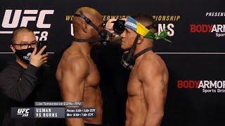UFC 258: Битвы взглядов