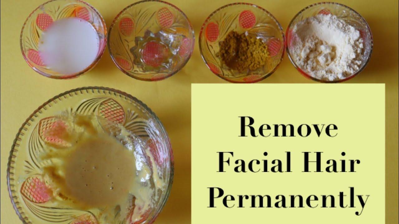 Permanent Facial Hair Removal At Home No Gelatin Naturally